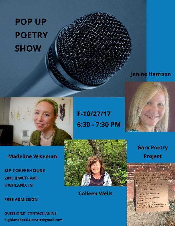 Pop Up Poetry Show I